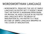 wordsworthian language