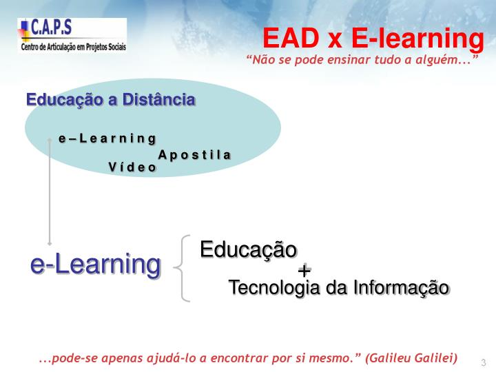EAD x E-learning