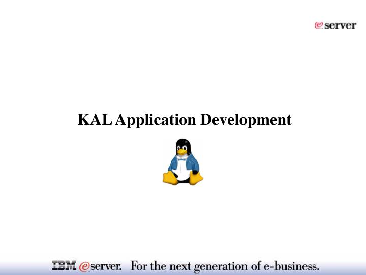 KAL Application