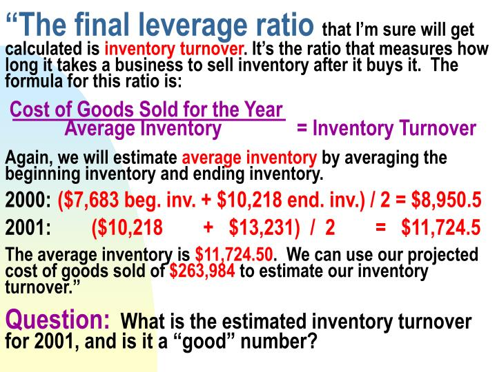 """The final leverage ratio"