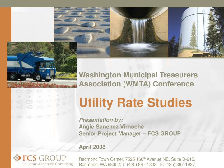 Washington Municipal Treasurers Association (WMTA) Conference
