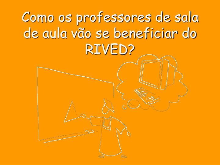 Como os professores de sala de aula vão se beneficiar do RIVED?