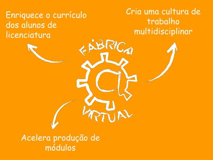 Cria uma cultura de trabalho multidisciplinar