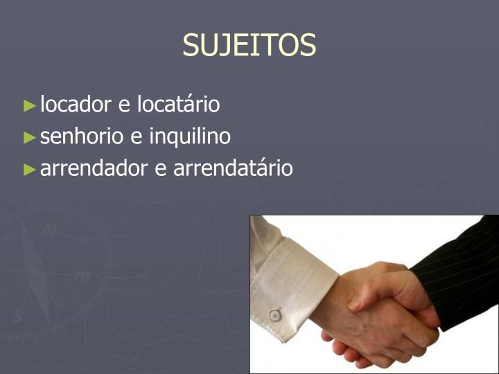 SUJEITOS