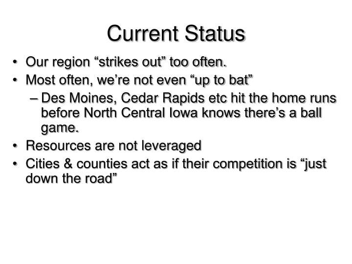 Current Status
