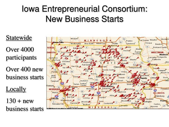Iowa Entrepreneurial Consortium: