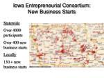 iowa entrepreneurial consortium new business starts
