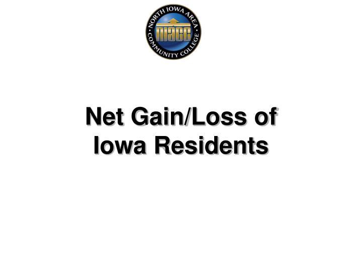 Net Gain/Loss of