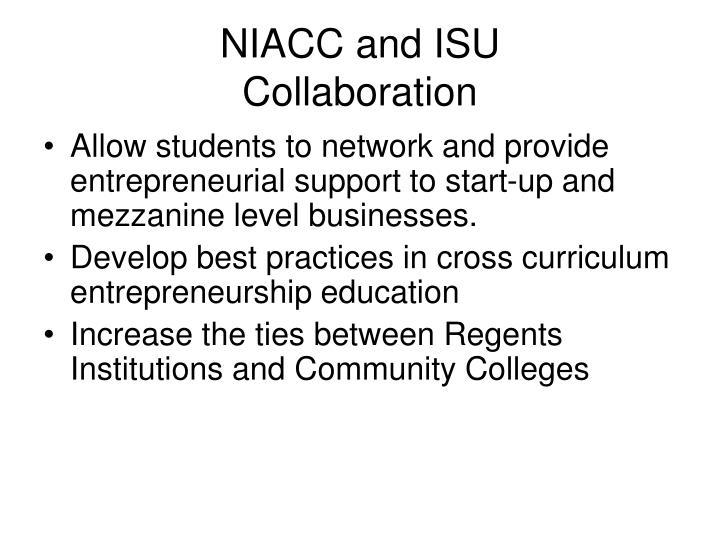 NIACC and ISU