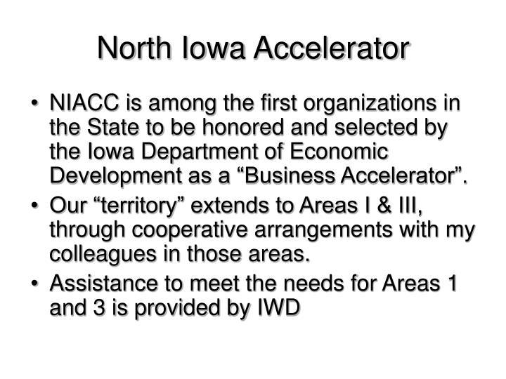 North Iowa Accelerator