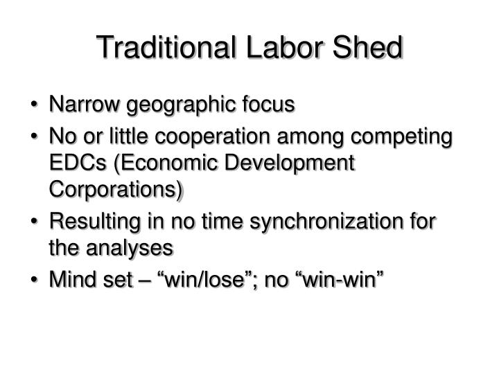 Traditional Labor Shed
