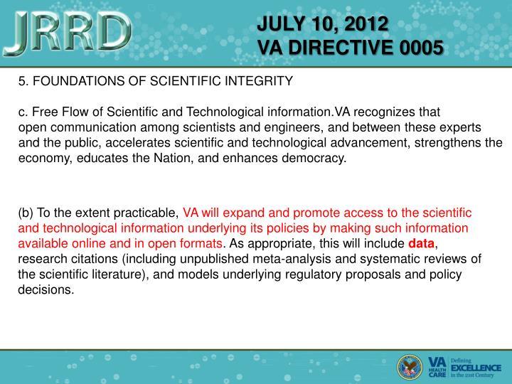 JULY 10, 2012