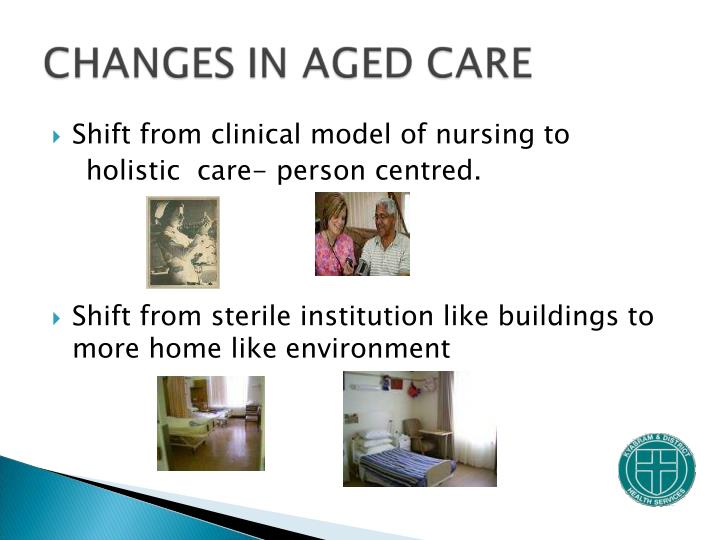 Shift from clinical model of nursing to