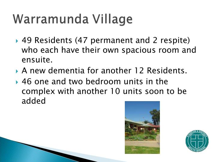 49 Residents (47 permanent and 2 respite) who each have their own spacious room and ensuite.