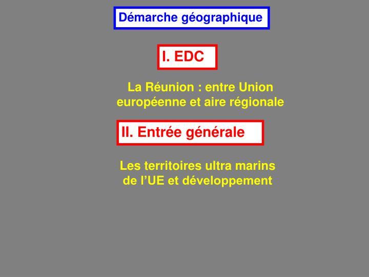 Démarche géographique