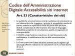 codice dell amministrazione digitale accessibilit siti internet