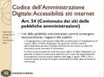 codice dell amministrazione digitale accessibilit siti internet1