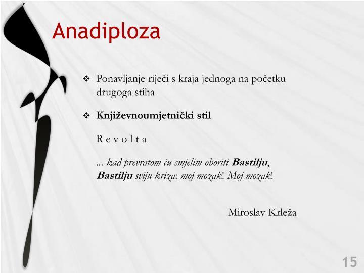 Anadiploza