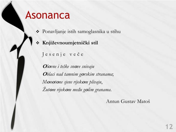 Asonanca