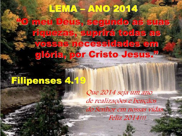 LEMA – ANO 2014