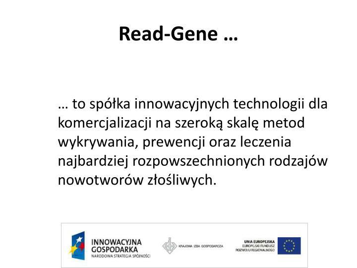 Read-Gene …