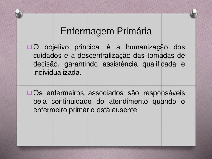 Enfermagem Primária