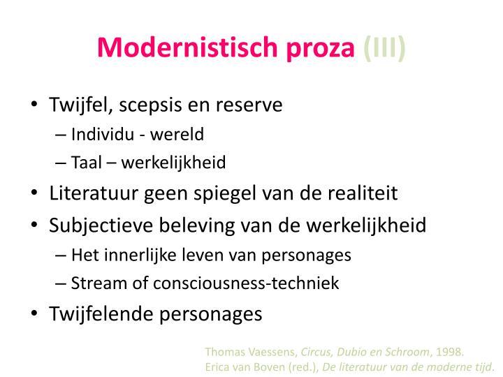 Modernistisch