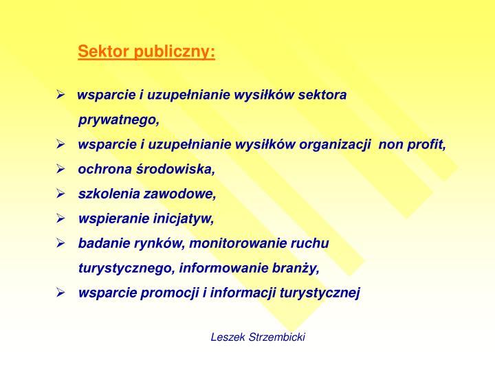 Sektor publiczny: