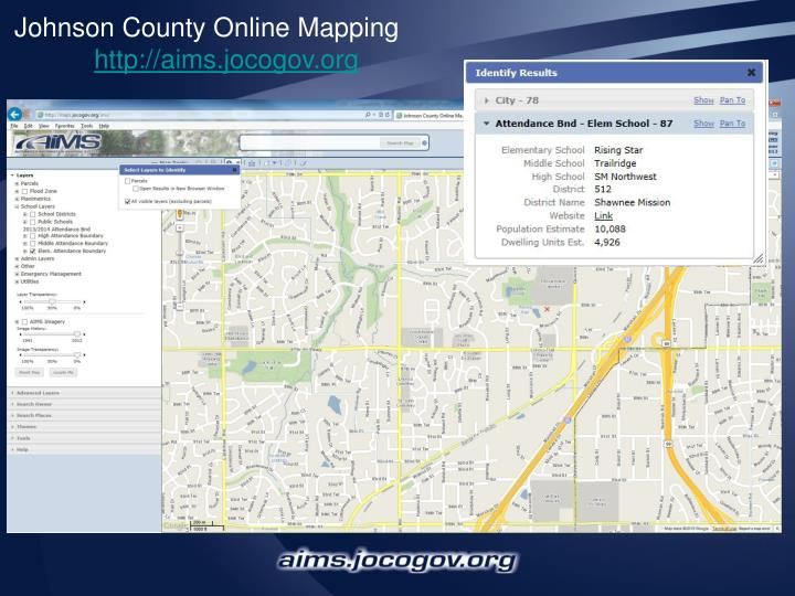Johnson County Online Mapping
