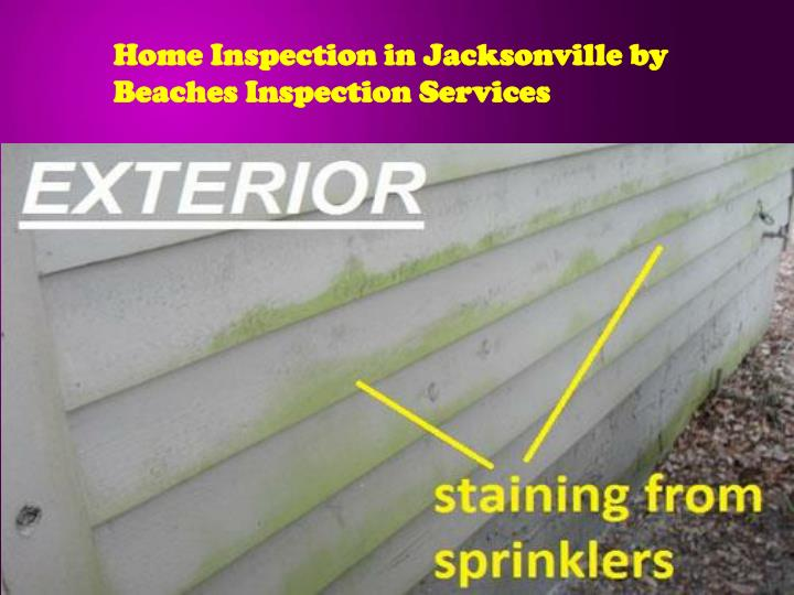 Home Inspection in Jacksonville by Beaches Inspection Services