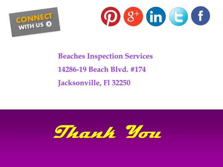 Beaches Inspection Services