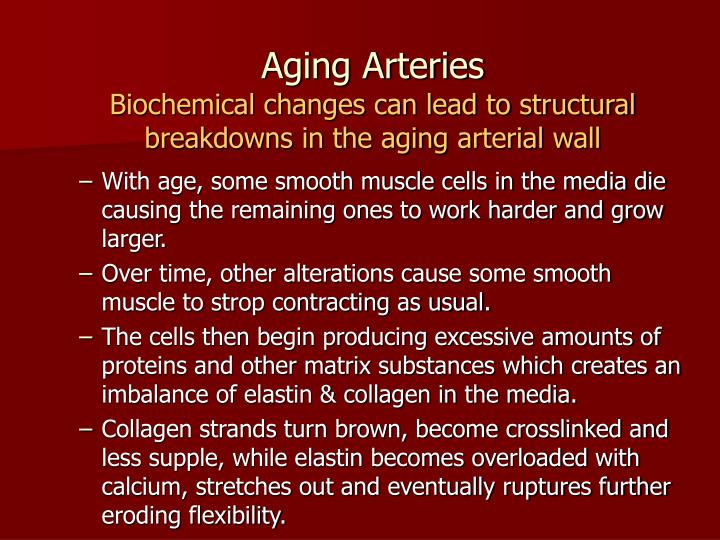 Aging Arteries