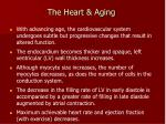 the heart aging