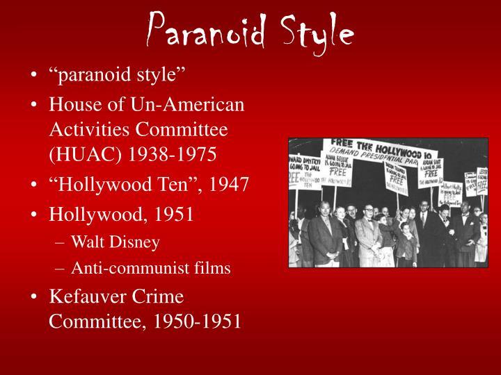 Paranoid Style