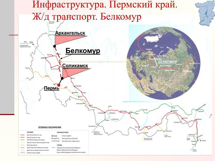 Инфраструктура. Пермский край.