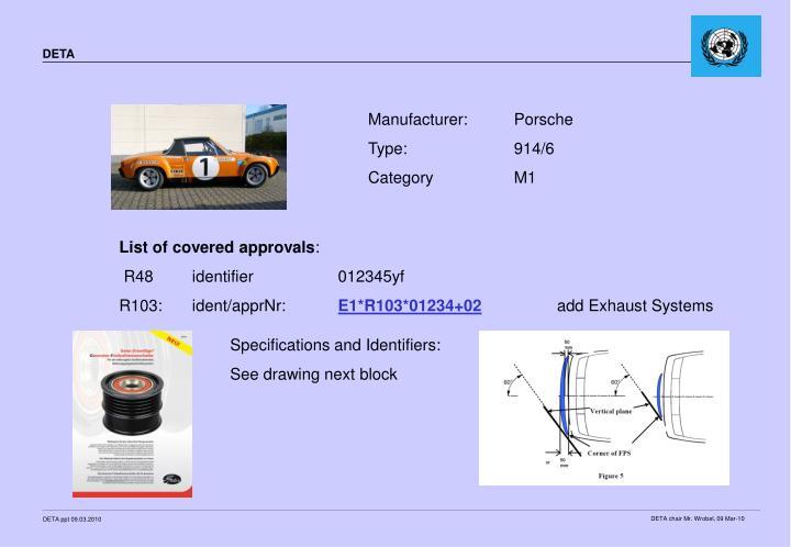 Manufacturer:Porsche