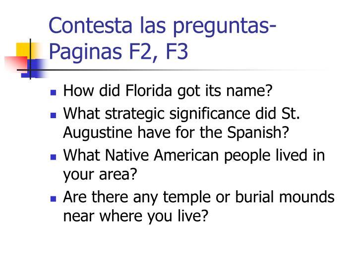 Contesta las preguntas-