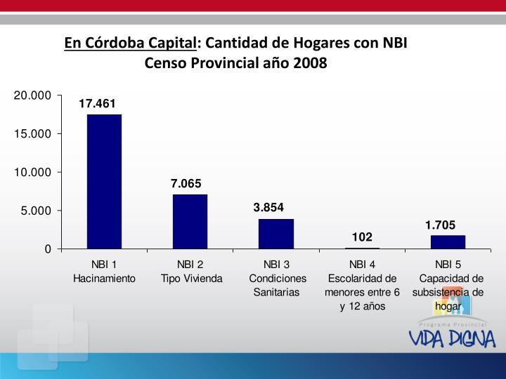 En Córdoba Capital