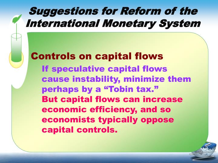Controls on capital flows