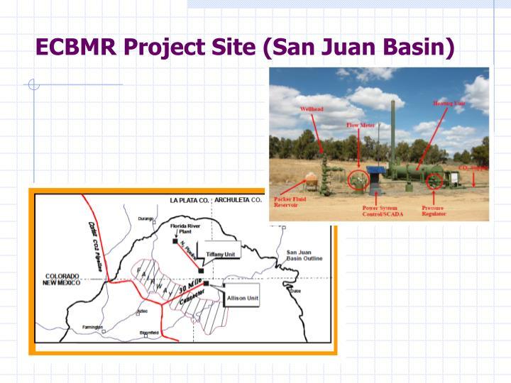 ECBMR Project Site (San Juan Basin)