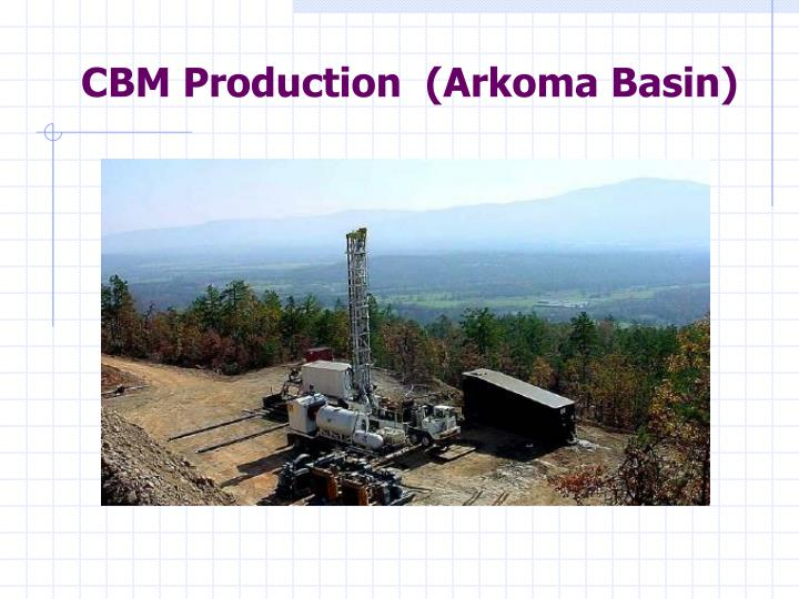 CBM Production  (Arkoma Basin)