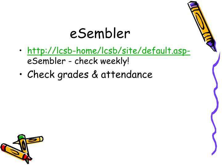 eSembler
