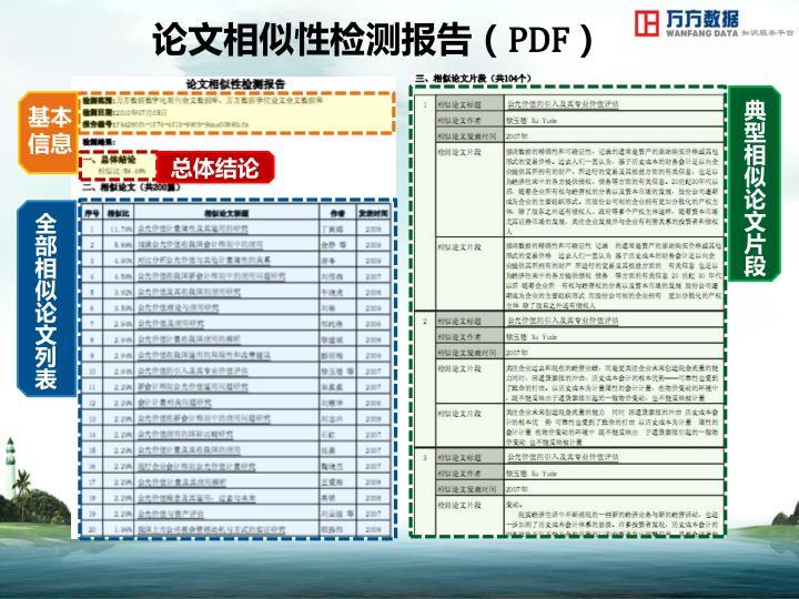 论文相似性检测报告(