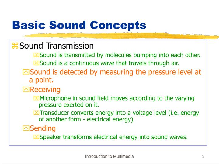 Basic sound concepts1