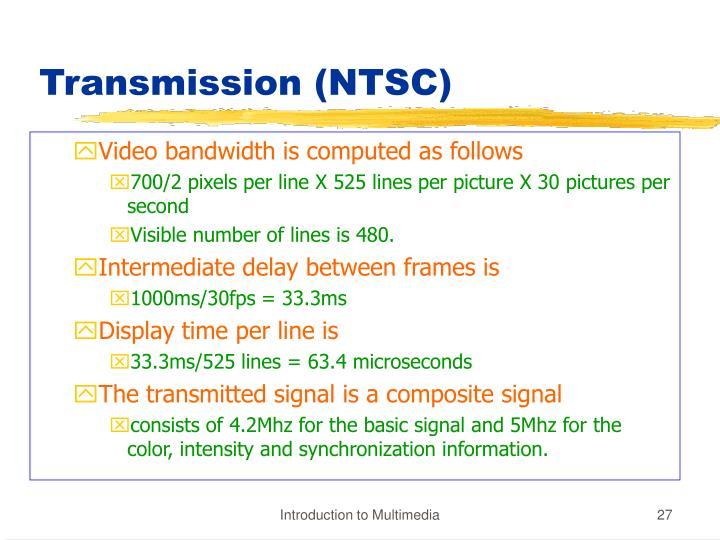 Transmission (NTSC)