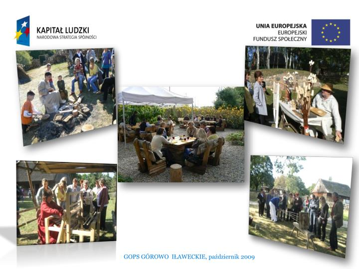 GOPS GÓROWO  IŁAWECKIE, październik 2009