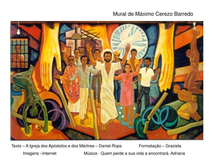 Mural de Máximo Cerezo Barredo