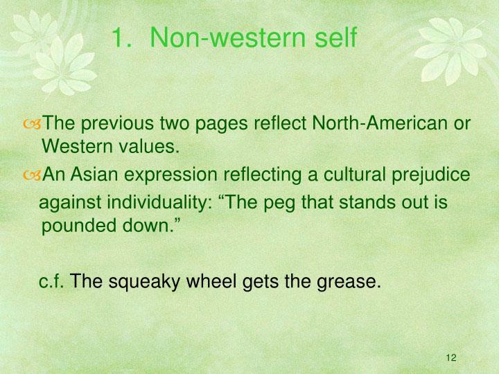 Non-western self