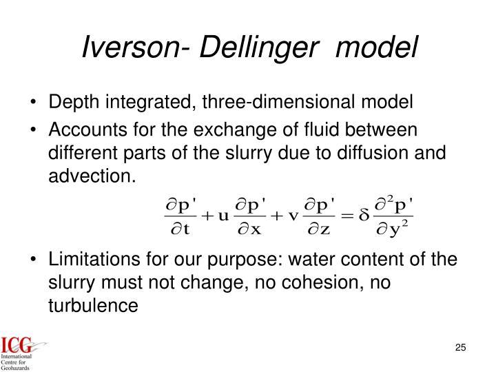 Iverson- Dellinger  model