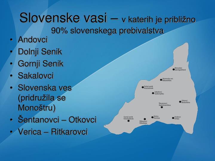 Slovenske vasi –